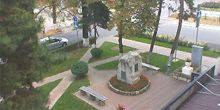 Webcam Pyatigorsk - The monument at the intersection of Kirov and Malygina str.