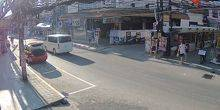 Webcam Samui - Central street of Koh