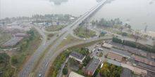 Webcam Dnepr (Dnepropetrovsk) - Ring in the new bridge