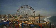 Webcam Los Angeles - Ferris wheel at Pacific Park