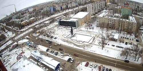 Webcam Volgodonsk - Square in front of the Komsomolets cinema