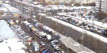 Webcam Krasnoyarsk - Komsomolsky Avenue