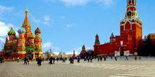 Webcam Moscow - The Kremlin and Red square