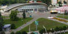 "Webcam Tambov - Area before sports Palace ""Crystal"""