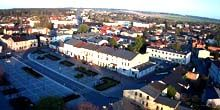 Webcam Czestochowa - Central square in the suburbs of Krzepice
