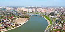 Webcam Krasnodar - Embankment of the river Kuban
