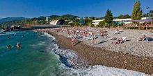 Webcam Sochi - The Beaches Of Kudepsta