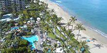 Webcam Hawaiian Islands - Westin Maui resort