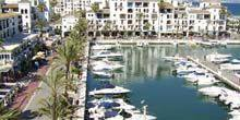 Webcam Malaga - La Duques yacht harbor