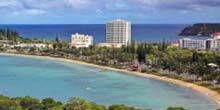 Webcam Noumea - beaches in Lemon Bay