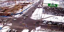 Webcam Krasnoyarsk - Leroy-Merlin supermarket on Alekseeva street