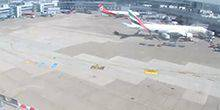 Webcam Dusseldorf - Flying field at the airport