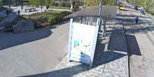 Webcam Nikolaev - Library ML Kropyvnitsky, tram stop