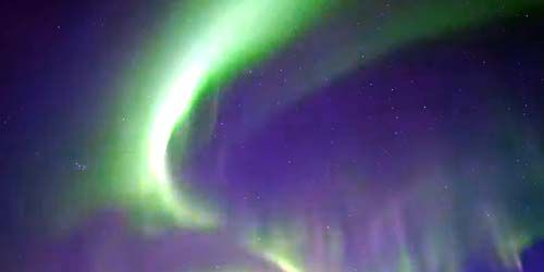 Webcam Rovaniemi - Northern lights in Lapland