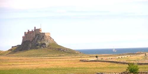 Webcam Newcastle - Lindisfarne Castle
