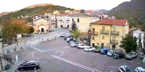 Webcam Isernia - Longano commune central square