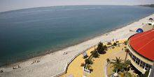 Webcam Sochi - Panorama of Loo Beach