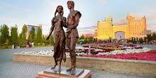 Webcam Nur-Sultan (Astana) - Lovers' Park