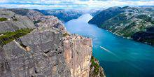 The Lysefjord panoramic view Forsan