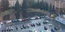 Webcam Dnepr (Dnepropetrovsk) - The Heroes Square Maidan (Passage)