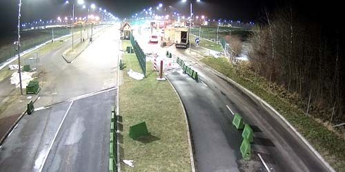 Webcam Kaliningrad - Customs Post of the Mamonovo-Grzechotki checkpoint