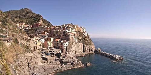Webcam Spezia - Coastal town of Manarola