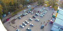 Webcam Biysk - Parking in front of the supermarket Maria-Ra