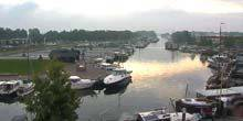 Webcam Zwolle - Marina with yachts of Elbürg