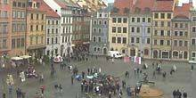 Webcam Warsaw - Market Square