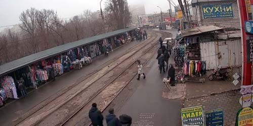 Webcam Mariupol - Central market