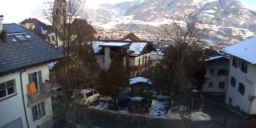 Webcam Merano - View of the city from the village of Marlengo