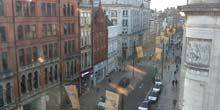 Webcam Cardiff - St. Mary's Street, turn onto Wood Street