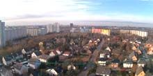 Webcam Berlin - panorama of the Marzan district