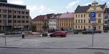 Webcam Příbram - View of the T. G. Masaryk square