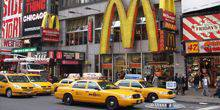 Webcam New York - McDonald's in Times Square