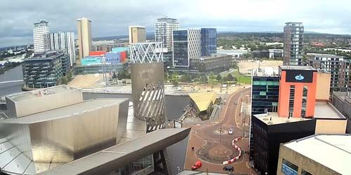 Webcam Manchester - Business Park MediaCityUK