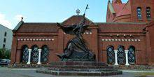Webcam Minsk - Sculpture Of The Archangel Michael