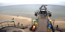 Webcam Szczecin - Baltic Sea, pier with beaches in Miedzyzdroje