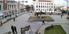 Webcam Zhitomir - Square on the street Mikhailovskaya