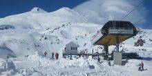 Mir station on mount Elbrus Kislovodsk