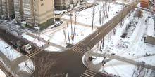 Webcam Irkutsk - Crossroad of Mira and Muravyev streets