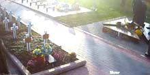 Webcam Ivano-Frankivsk - Monument to Roman Gurik in Memorial Square