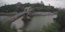 Webcam Dnepr (Dnepropetrovsk) - The Monastery Bridge