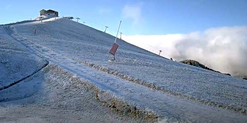 Webcam Albertville - The top of Mont Joux mountain in Mont Blanc resort