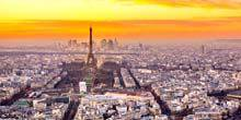 Panorama from the Montparnasse Tower Paris