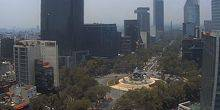 Webcam Mexico - Monument of Independence on the Paseo de la Reforma