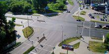 Webcam Brest - Crossroads of Gavrilov and Moscow streets