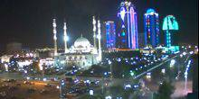 Webcam Grozny - Mosque Heart of Chechnya named after Akhmad Kadyrov