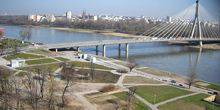 Webcam Warsaw - The Bridge Of The Holy Cross
