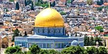 Webcam Jerusalem - Temple Mount Sanctuary Dome of the Rock